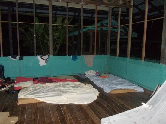 Corcovado Adventures Tent Camp: zona notte