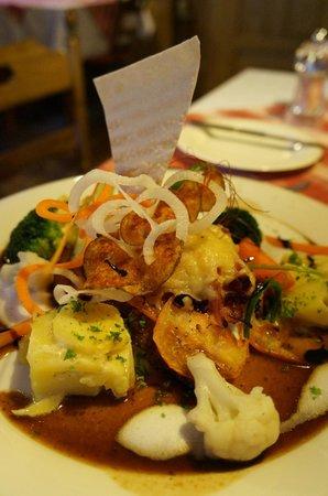 Landhotel Bierhaeusle: Dinner