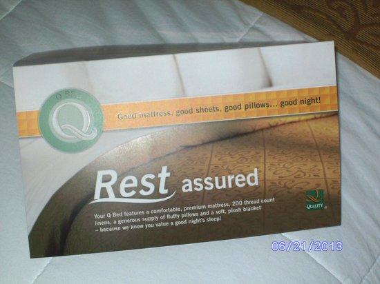 Quality Inn & Suites Rainwater Park: ye