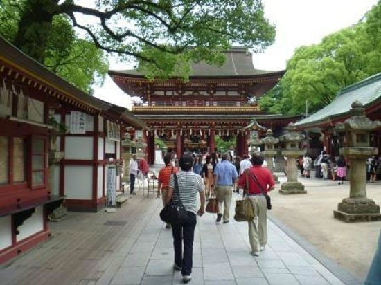 Dazaifu Temmangu Shrine: 本殿