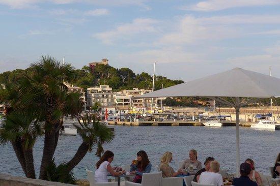 Café Noahs: Blick von Noahs auf den Hafen