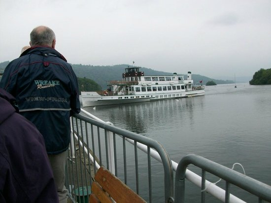 Bowness-on-Windermere, UK: A Lakeland Steamer