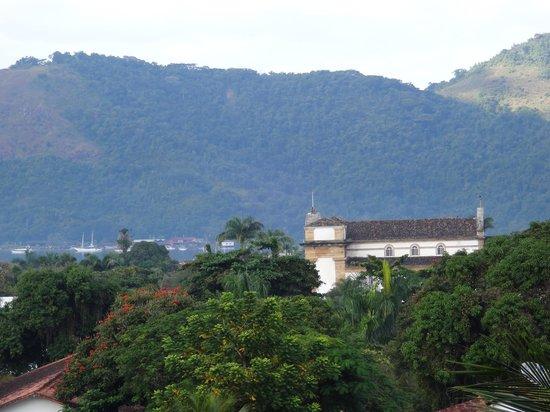Pousada Morro do Forte: Foto tirada da varanda da Pousada.