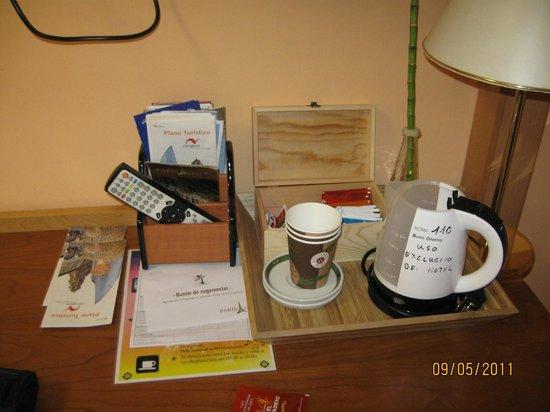 Hotel Paris Centro : coffe corner
