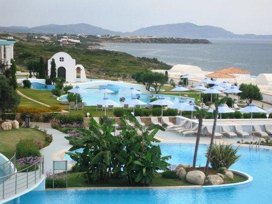 Atrium Prestige Thalasso Spa Resort and Villas: The view from Breakfast!