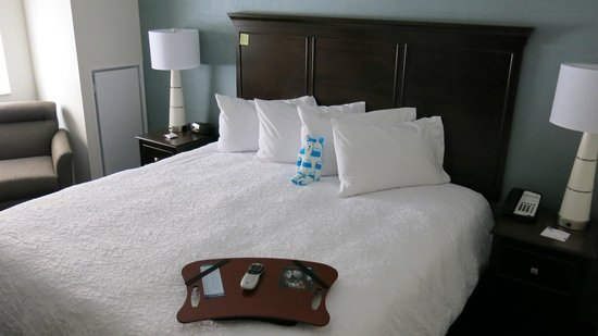 Hampton Inn Washington, D.C./White House : Comfy Bed