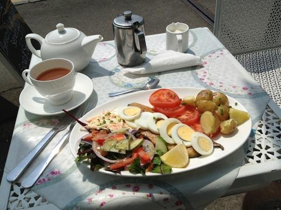 The Tea Station: very very tasty and really good value for money