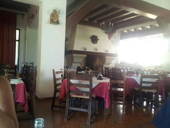 Hotel Las Truchas: salón comedor
