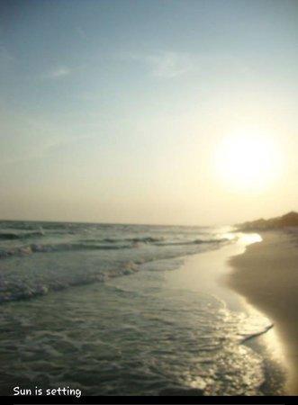 Gulf Place: Sun Setting