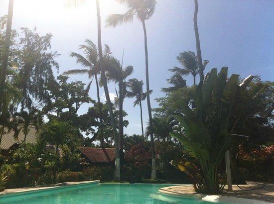 Hotel Palococo : atardecer desde la piscina