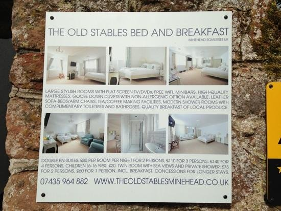 The Old Stables Bed and Breakfast Photo