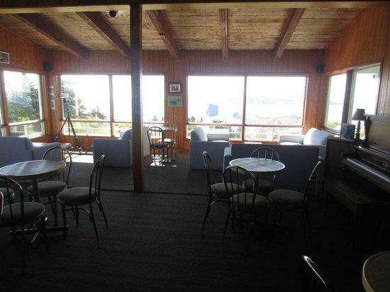 Percé Au Pic de l'Aurore : Restaurante del motel
