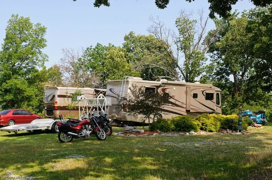 Ozark View RV Park : Plenty of room