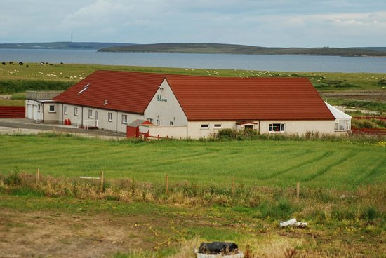 Orkneylodge: Houton Bay Lodge in Orphir