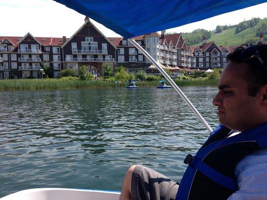 Westin Trillium House Blue Mountain: View from lake