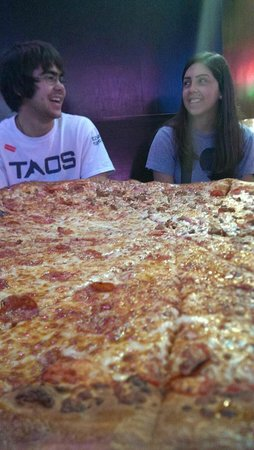Big Lou's Pizza: 20 pounds of leftovers!