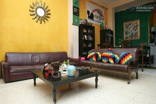 The Munajat Backpacker: tv room