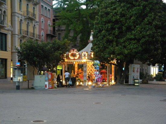 Lugano, Schweiz: Piazza del centro