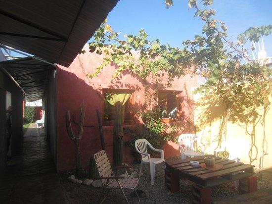 Hostel La Morada : Rustico y con muy buen gusto