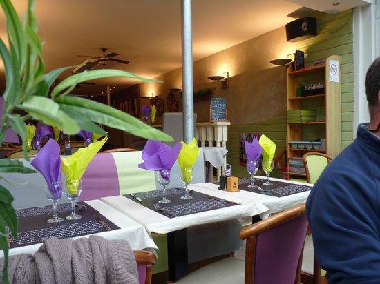 La Moule Qui Chante : Intérieur du restaurant