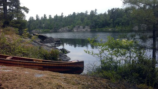 Chaudiere Lodge: A beautiful place for canoeing