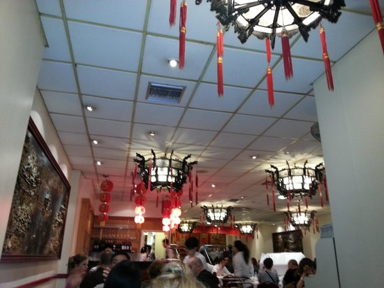 New World Chinese : Ground floor of New World restaurant