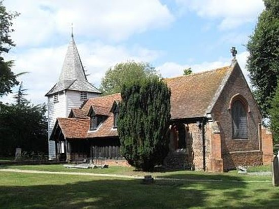 Ongar, UK: The church at Greensted