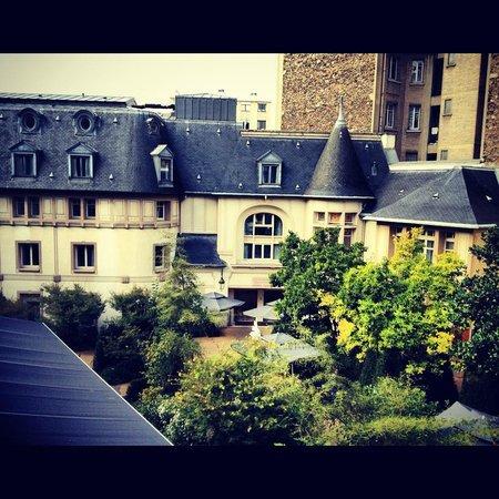 view from our balcony picture of renaissance paris le. Black Bedroom Furniture Sets. Home Design Ideas