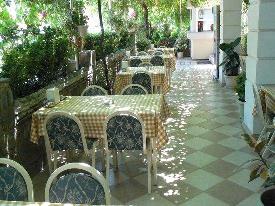 Dost Hotel: Garden Terrace