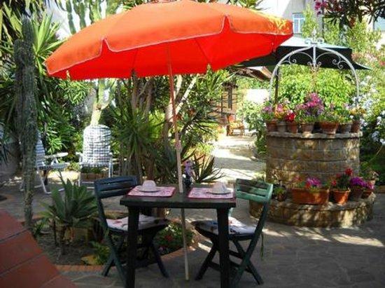 B&B La Zagara: giardino