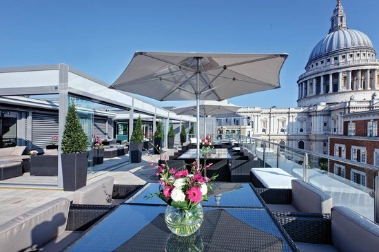 Grange St. Paul's Hotel: Sky Bar
