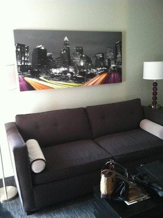 HYATT house Charlotte Center City : Sitting area