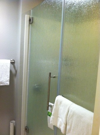 HYATT house Charlotte Center City : large shower
