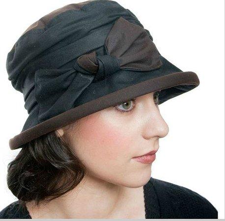 Rain hat from Kathleen McAuliffe Dingle