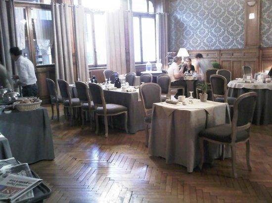 Hotel La Balance : Salle PDJ