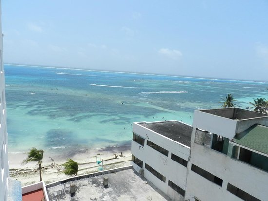 Hotel Calypso: la vista desde nuestra ventana