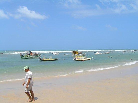 Pousada Terra dos Goitis: Beach near the Pousada dos Goitis