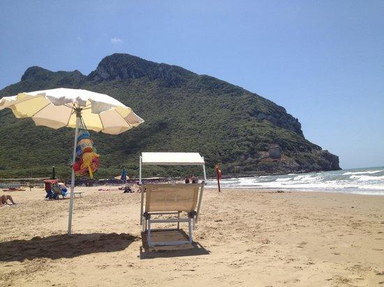 Chiosco torre paola : In spiaggia