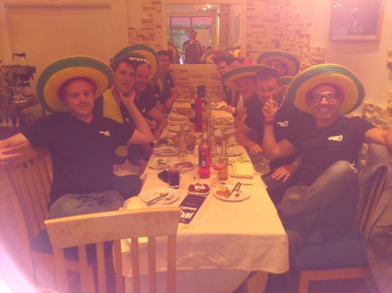 Real Barbecue and Bar: The Sombrero Stag Party!