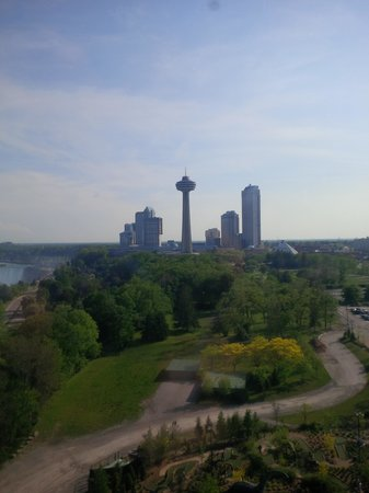 skylon tower from the skywheel - Picture of Skylon Tower ...