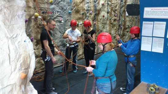 Ambleside Climbing Wall: Learning to Top Rope