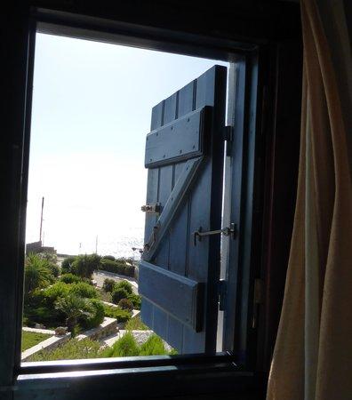 Ostria Inn: view from my window