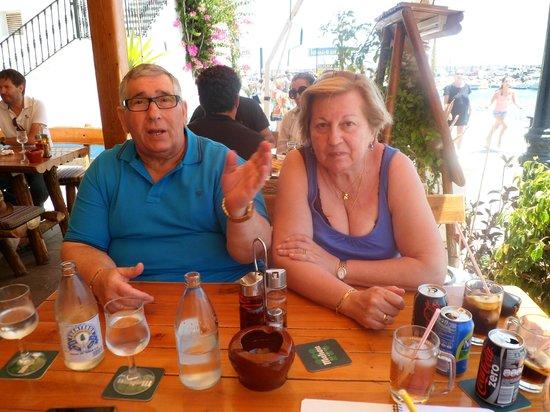 Cafe de Paris: Noemi y Manuel Rey