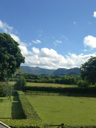 Broomlands Bed & Breakfast: View from room