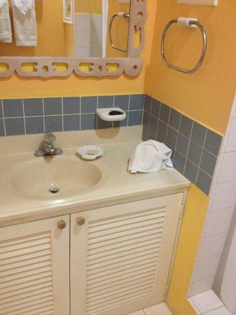 Sugarapple Inn: sink in bathroom