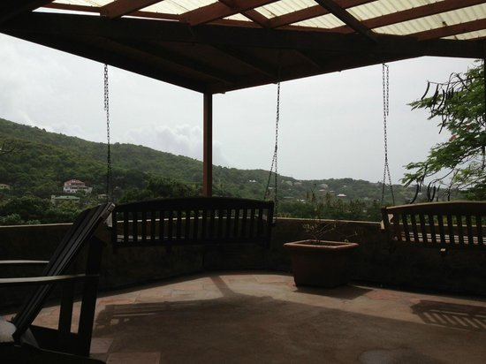 Sugarapple Inn: View from breakfast area