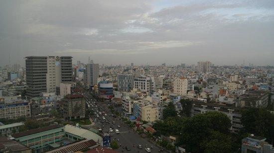 Vissai Saigon Hotel: View from level 12