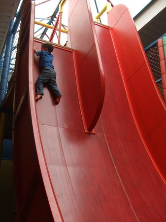 Kidzworld: One of the death slides