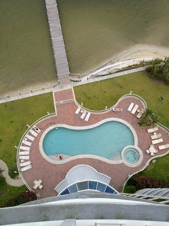 Bel Sole Condominiums: POOL FROM 13TH FLOOR