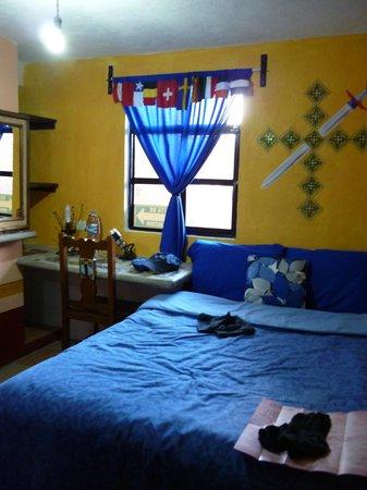 Casa de Dante Hostel: mein Zimmer